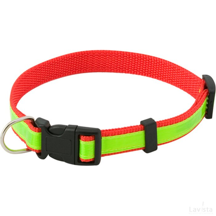 Muttley Reflecterende Halsband Rood