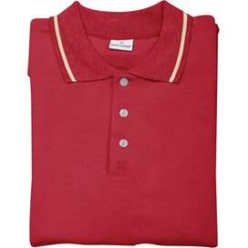 Collier André Philippe Poloshirt Rood