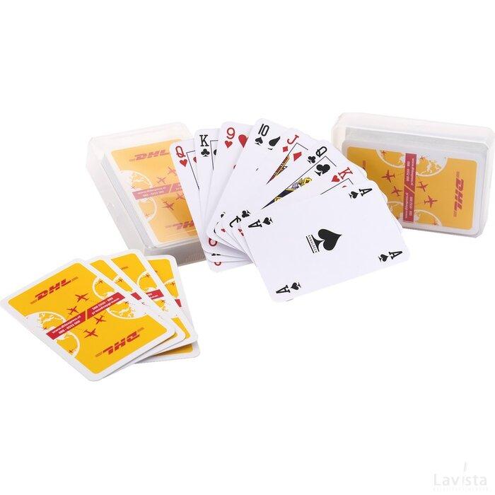 Speelkaarten in kunststof doosje