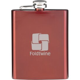 Hipflask Heupfles Rood