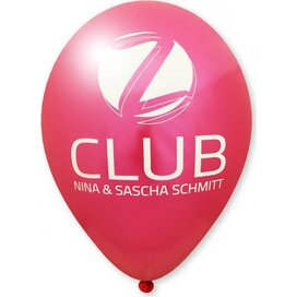 Ballon 85/95 cm kleine oplage magenta