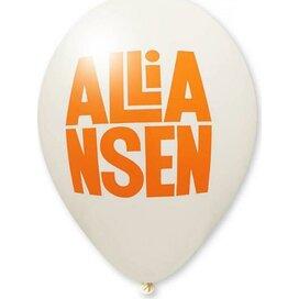 Ballon 85/95 cm kleine oplage wit