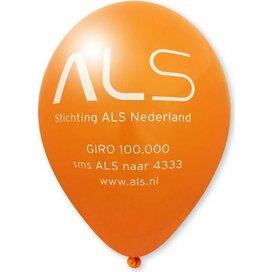 Ballon 85/95 cm kleine oplage oranje