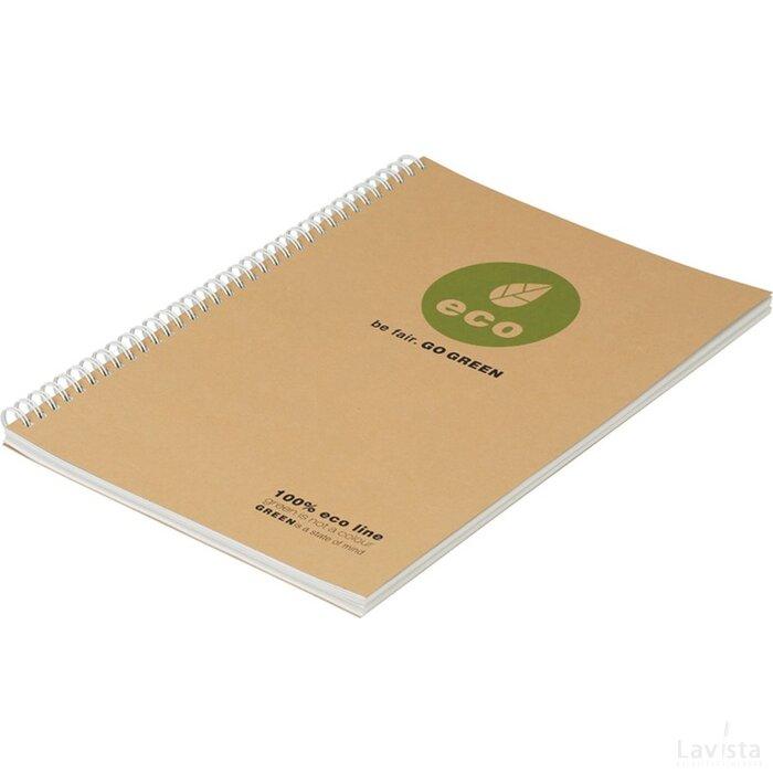 Eco notitieboekje met spiraal