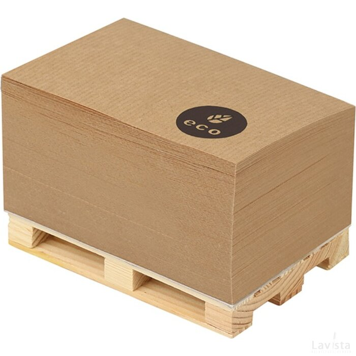 Eco pallet notitieblok