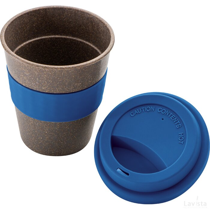 Bamboe drinkbeker blauw