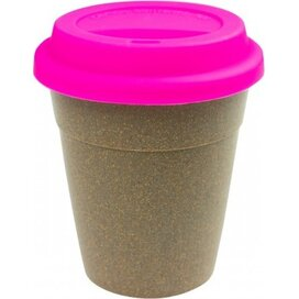 Bamboe To Go Koffiebeker roze