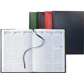 Agenda bedrukken | Bureau-agenda 128 pagina Zwart