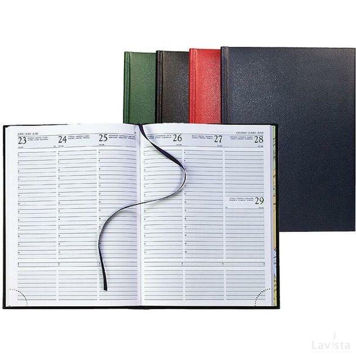 Bureau-agenda 128 pagina Grijs