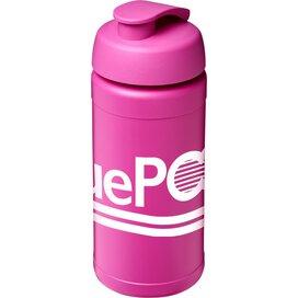 Baseline® Plus 500 ml sportfles met flipcapdeksel Roze Magenta