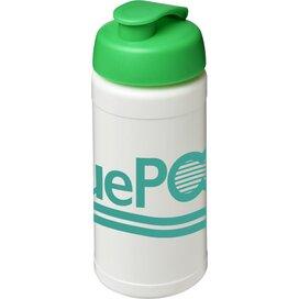 Baseline® Plus 500 ml sportfles met flipcapdeksel Wit,Groen