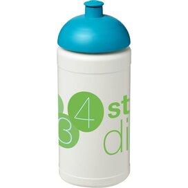 Baseline® Plus 500 ml bidon met koepeldeksel Wit,aqua