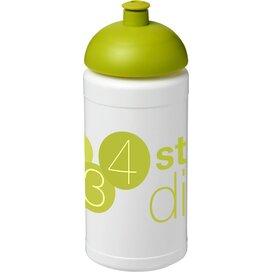 Baseline® Plus 500 ml bidon met koepeldeksel Wit,limegroen