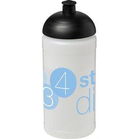 Baseline® Plus 500 ml bidon met koepeldeksel Transparant,Zwart