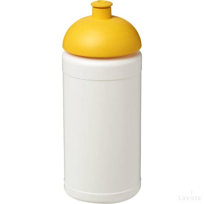 Baseline® Plus 500 ml bidon met koepeldeksel Wit,geel