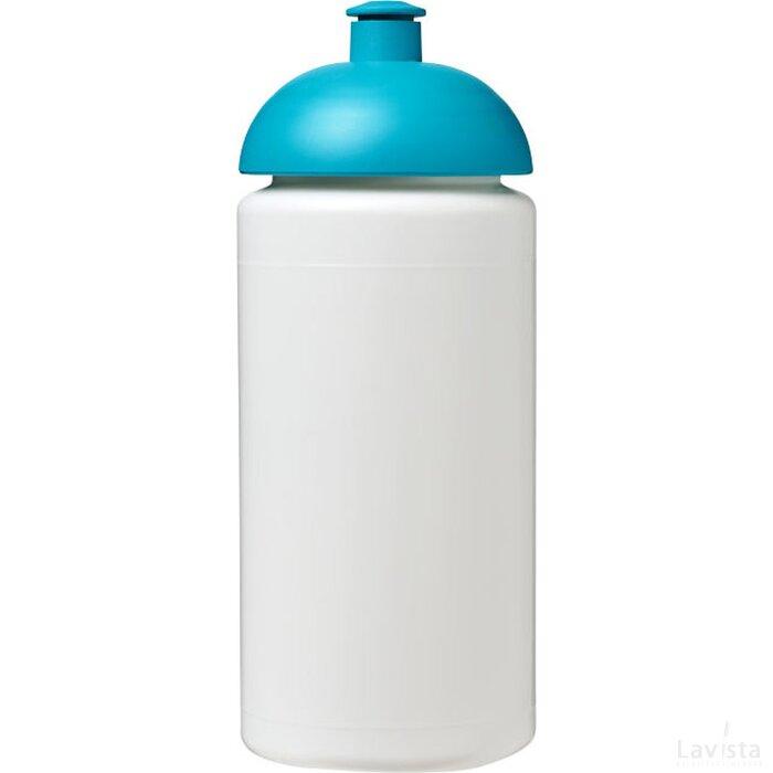 Baseline® Plus grip 500 ml bidon met koepeldeksel Wit,aqua