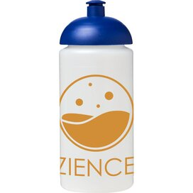 Baseline® Plus grip 500 ml bidon met koepeldeksel Transparant,blauw