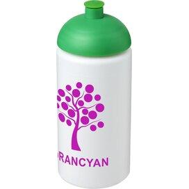 Baseline® Plus grip 500 ml bidon met koepeldeksel Wit,Groen