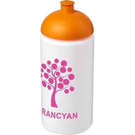 Baseline® Plus grip 500 ml bidon met koepeldeksel Wit,Oranje