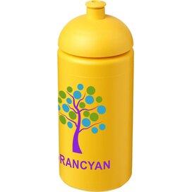 Baseline® Plus grip 500 ml bidon met koepeldeksel geel
