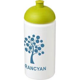 Baseline® Plus grip 500 ml bidon met koepeldeksel Wit,limegroen Wit,Lime