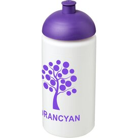Baseline® Plus grip 500 ml bidon met koepeldeksel Wit,Paars