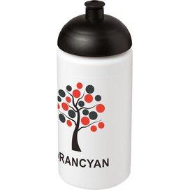 Baseline® Plus grip 500 ml bidon met koepeldeksel Wit,Zwart