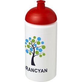 Baseline® Plus grip 500 ml bidon met koepeldeksel Wit,Rood