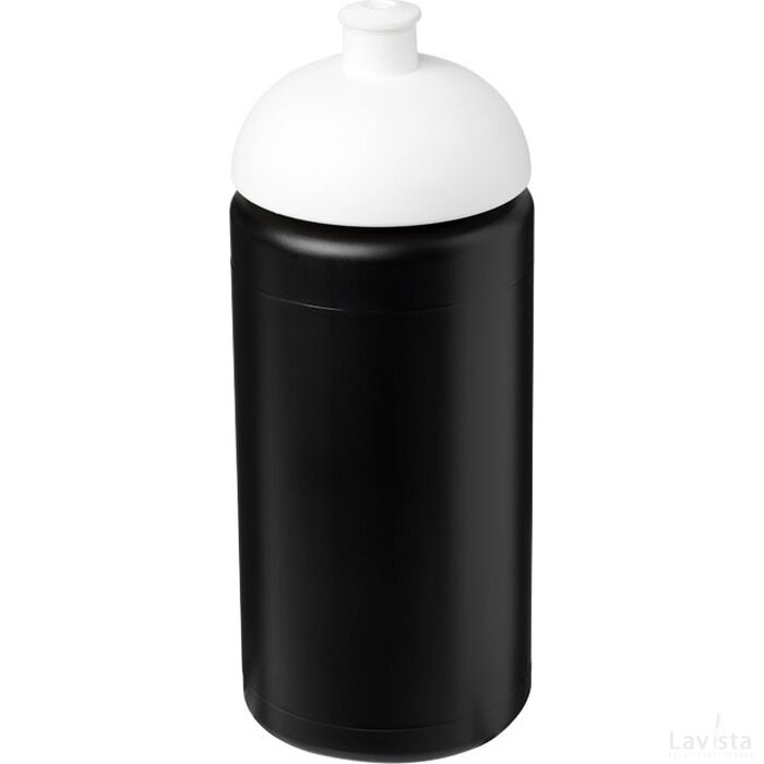 Baseline® Plus grip 500 ml bidon met koepeldeksel Zwart,Wit