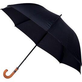 golfparaplu, windproof zwart