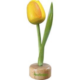 Tulip pedestal 20 cm ( big ), yellow orange Amsterdam