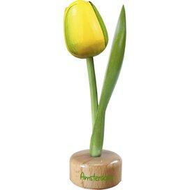 Tulip pedestal 20 cm ( big ), yellow green Amsterdam