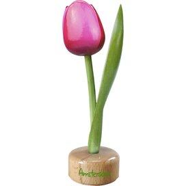 Tulip pedestal 20 cm ( big ), pink red Amsterdam