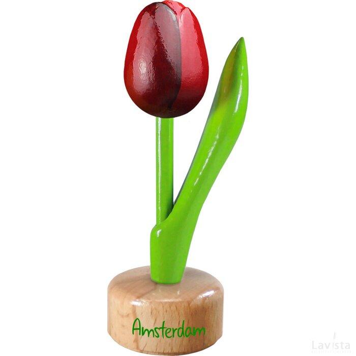 Tulip pedestal 8,5 cm ( small ), red aubergine Amsterdam