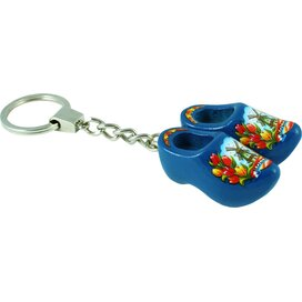 Keychain 2 shoes, blue tulip