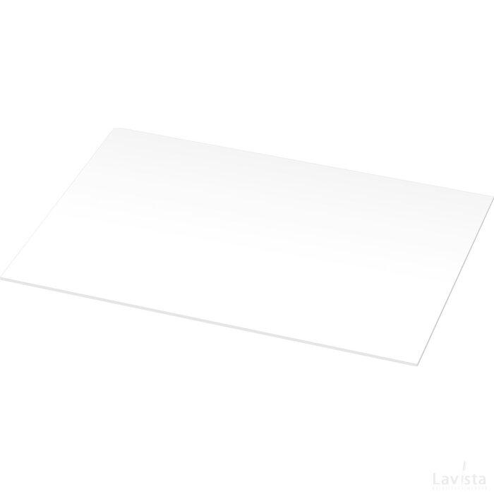Desk-Mate® A3 bureauonderlegger met een omwikkelde omslag Wit