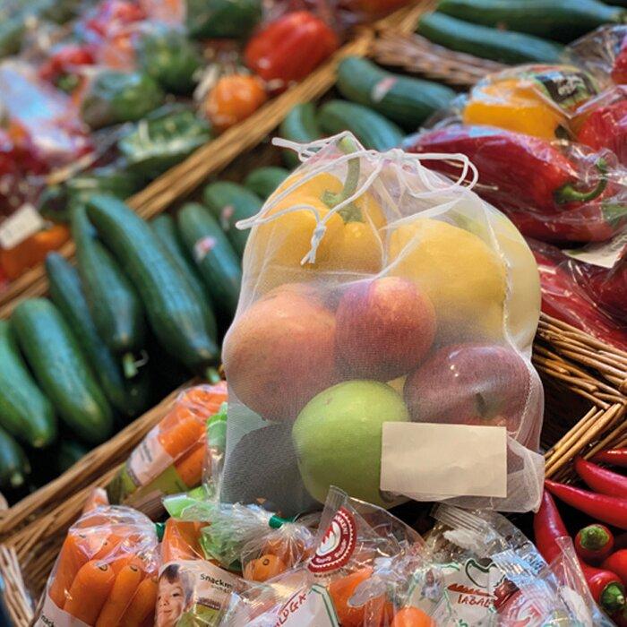 Versnet voor groeten en fruit wit