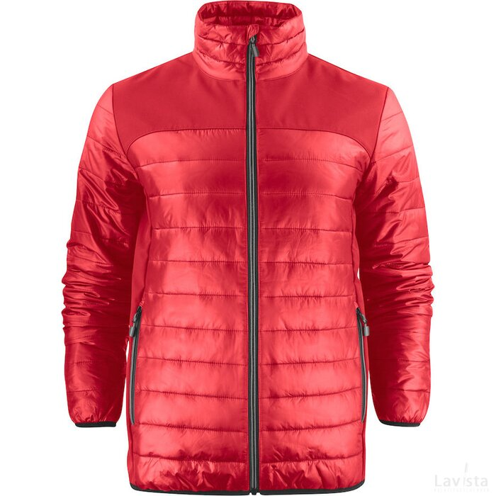 Heren printer expedition jacket rood