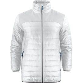 Heren printer expedition jacket wit