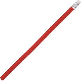 SABA potlood met gum Peekay rood