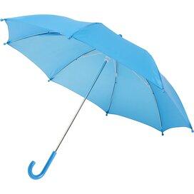 """Nina 17"""" stormparaplu voor kinderen Process Blue"""