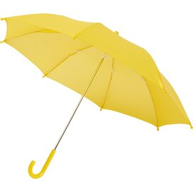 """Nina 17"""" stormparaplu voor kinderen geel"""