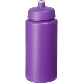 Baseline® Plus grip 500 ml sportfles met sportdeksel Paars
