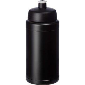 Baseline® Plus 500 ml drinkfles met sportdeksel Zwart
