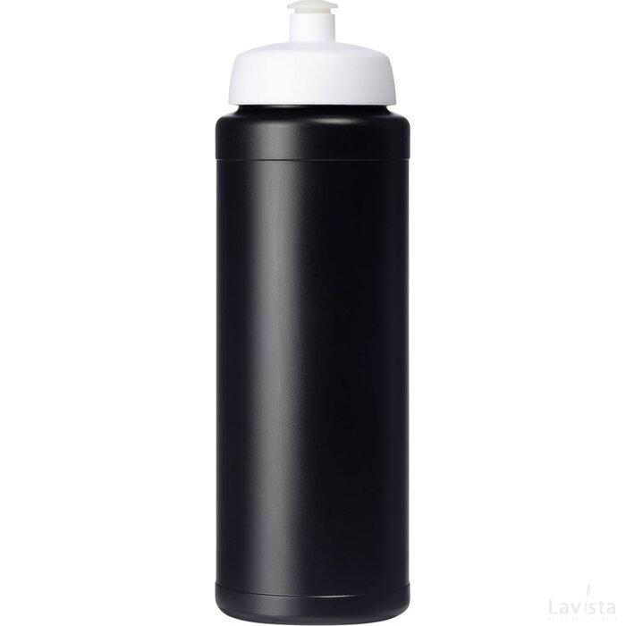 Baseline® Plus grip 750 ml sportfles met sportdeksel Zwart,Wit