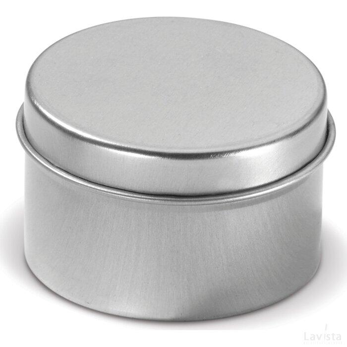 Geurkaarsje rond Zilver