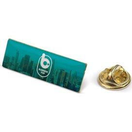 Speld metalen pin Goud satijn