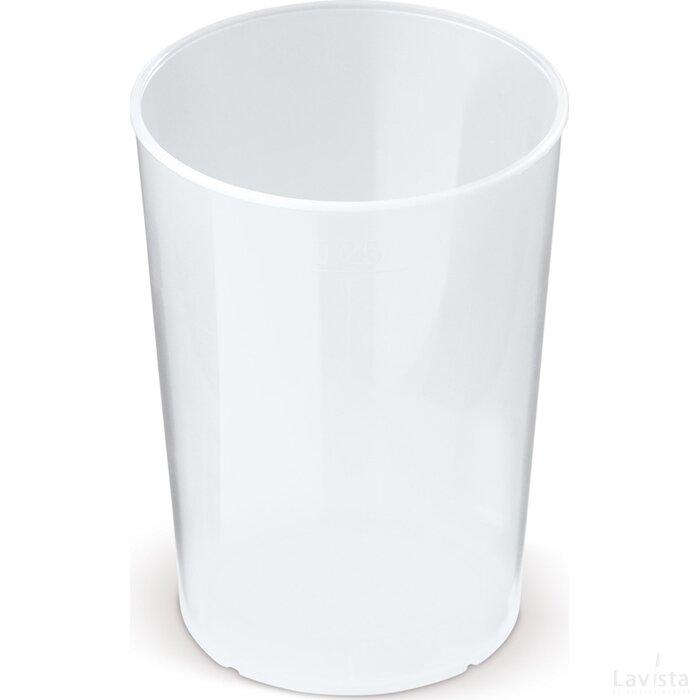 ECO cup Bio materiaal 250ml Transparant