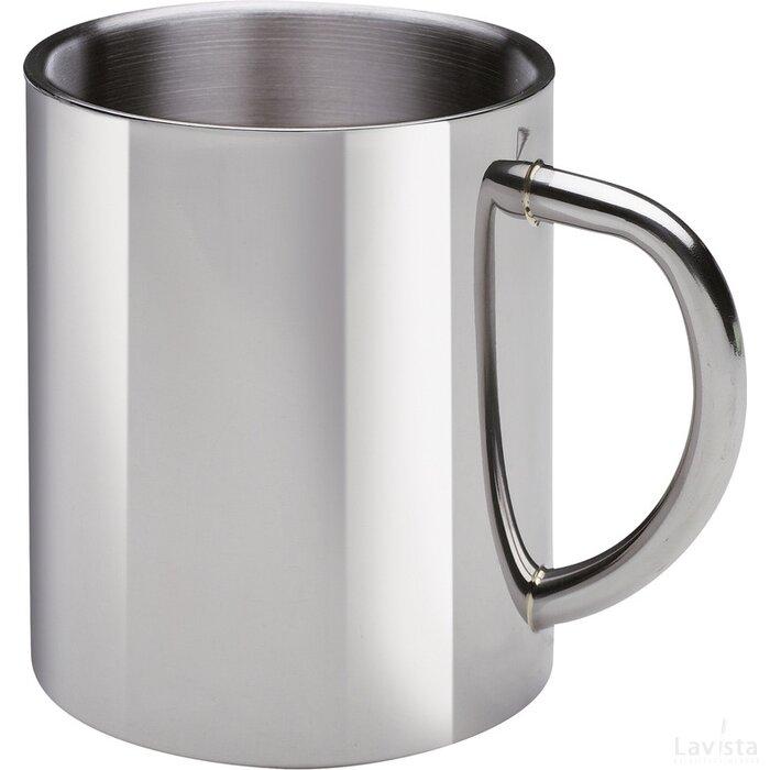 Beker Retumbler-Florissant zilver