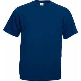 T-shirt Fruit of the Loom Valueweight T Navy